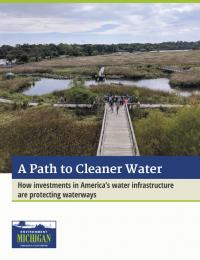 Report on water infrastructure